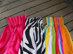 Swimsuit coverups made from towels