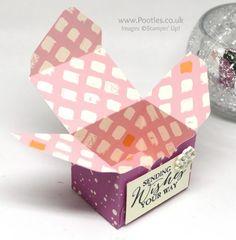 Stampin' Up! Demonstrator Pootles - Playful Palette Envelope Punch Board Versatile Box