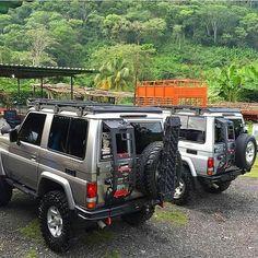 Land Cruiser 70 Series, Toyota Lc, Best 4x4, Nissan Patrol, Land Rover Discovery, Trd, Diesel Trucks, Roof Rack, Cool Trucks