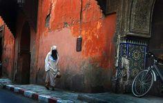 #morocco#woman#niqab#street Niqab, Morocco, Woman, Street, Painting, Art, Art Background, Painting Art, Kunst