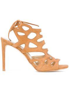 STUART WEITZMAN Wildcat sandals. #stuartweitzman #shoes #sandals