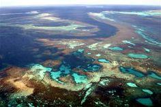 Abrolhos Islands aerial view, Geraldton