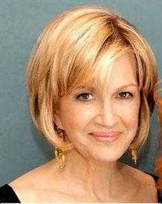 Best Short Haircuts for Older Women