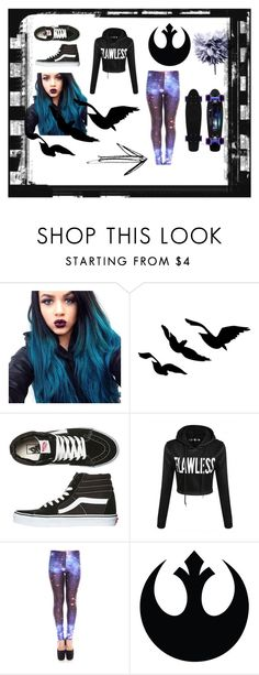 """""""Sk8er"""" by ayla-zx ❤ liked on Polyvore featuring Vans, Art Addiction, women's clothing, women, female, woman, misses and juniors"""