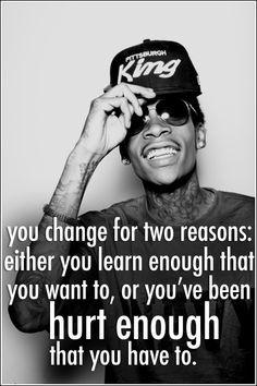 Wiz Khalifa speaks the   truth.