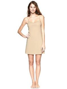 Gap Full slip (in taupe and black, per your skin tone)