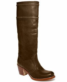 9bb31cf8675 Frye Women s Jane 14L Stitch Extended Calf Boots Shoes - Boots - Macy s