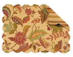 quilted placemats | Henley Rectangular Quilted Placemat - PC Fallon