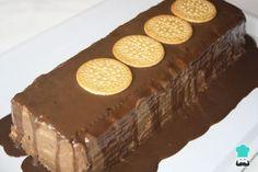 Receta de Tarta fácil de chocolate y galletas
