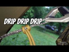 Hammock rain setup and how to stay dry: Drip Lines and Water Breaks (3min) Just a quick hammock camping tip video about how I stay dry hammock camping in the rain. ...