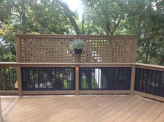 deck privacy barriers | Tag Archives: Columbia SC custom deck features for privacy