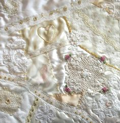 I ❤ crazy quilting & ribbon embroidery . . . Problem Child-Debbie Smith ~By Pinyon Creek Stitchin'