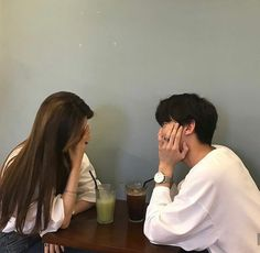 Couple, ulzzang, and korean image Couple Ulzzang, Ulzzang Girl, Cute Relationship Goals, Cute Relationships, Couple Relationship, Cute Korean, Korean Girl, Korean Image, Wattpad
