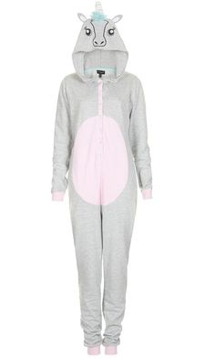Unicorn onesie, call Me lame but I'd love to wear this.