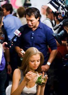 Models Like to Eat greens