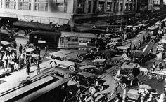 Los Angeles before traffic lights