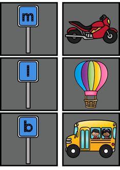 Spellenbundel Thema voertuigen Kinderboekenweek 4 Kids, Speech Therapy, Larp, Transportation, Classroom, Letters, School, Learning, Games