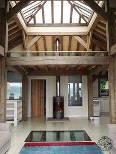 Timber framed houses Scotland, Tigh Na Mara by Carpenter Oak Ltd