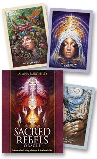 Sacred Rebels Oracle Deck...great artwork and great for personal readings.