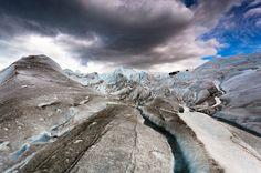 Ice World | The Perito Moreno Glacier by Jakub Polomski, via Behance