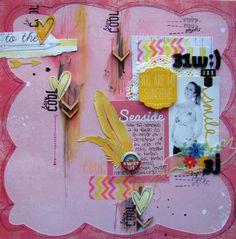 Layout Scrapbook Judy Alonso