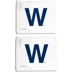 "Chicago Cubs 15"" x 18"" W Rally Towel 2-Pack by McArthur 