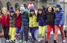 La moda infantil de Benetton para el otoño invierno 2014