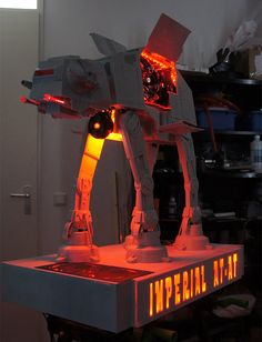 The Incredible At-At Computer Case Mod