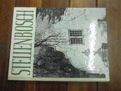 Buy STELLENBOSCH  - ALICE MERTENS -  ARCHITECTURE PICTURE BLACK & WHITE PLATES   HARDBACK 1971 for R45.00
