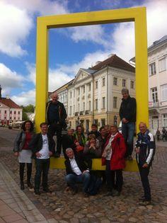 vanuit het Erasmus plus programma Estland bezocht om kennis op te doen over het EQF en NLQF
