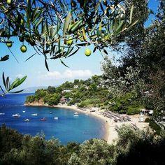 Troulos beach, Skiathos, Greece