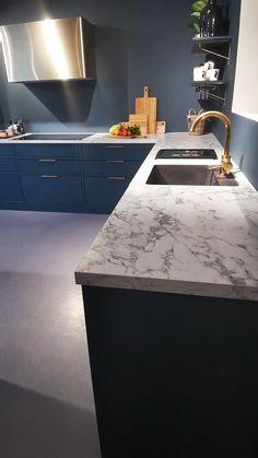 Luxury Kitchen Design, Kitchen Room Design, Home Room Design, Home Design Decor, Küchen Design, Home Decor Kitchen, Interior Design Kitchen, New Kitchen Inspiration, Kitchen Cupboard Designs