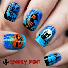 BOO! Spooky Halloween Nails on the BLOG today.