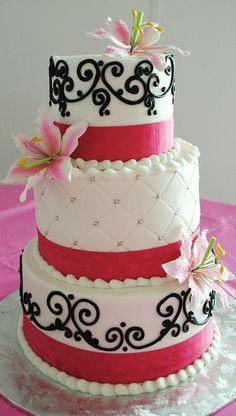 pillar wedding cakes   Pin Quinceanera Cakes Pillars Wedding Cake 01 Rsvp Cards For Weddings ...