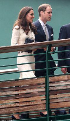 Kate and William at Wimbledon