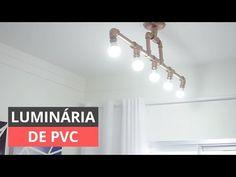 Descubra 60 modelos de luminária de PVC selecionados por sua criatividade e veja tutoriais passo a passo em video para fazer em casa. Confira!