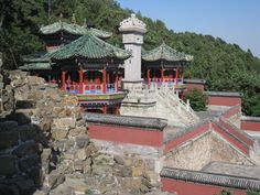Summer Palace, Beijing - very interesting place to visit.  LOTS of color and architectural interests!