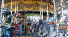 La Pérgola, nuestro recién restaurado tiovivo de 1927, sin lugar a duda la joya del Parque de Atracciones