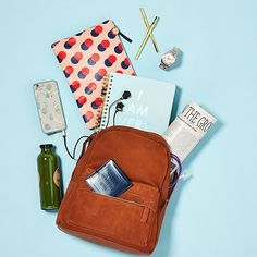 Our Back-to-school (Or Work) Checklist: Chic Backpack, Cute Pouch, Sleek Cardholder, Cheeky Notebook, And Mood-lifting Phone Case By Shopbop
