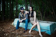 Duck Dynasty Styled Engagement Shoot Inspiration Southern Engagement Ideas
