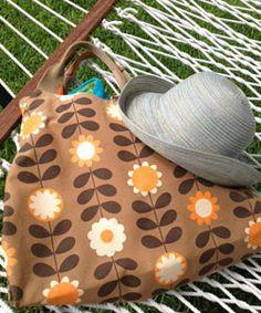 Inside a Curly Girl's Beach Bag
