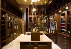 pinterest luxery closets | luxury walk in closet | Closets I LOVE