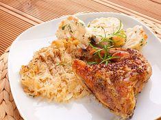 Pork, Chicken, Kale Stir Fry, Pork Chops, Cubs