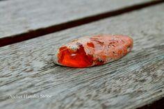 Mexican fire opal in matrix Atelier Hanako Stone