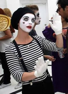 mime costume female - Google Search