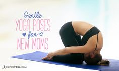 Have you recently had a baby? Here are some great post-partum yoga poses to show yourself some love!