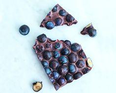 Kesän paras keksintö: mustikkasuklaa