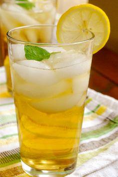 mint sweet tea! - so good and so refreshing!!