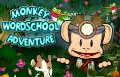 Ready to Read - Monkey Wordschool Adventure - learn letters, sight words, phonics and spelling in fun mini games.