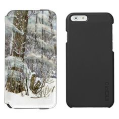 Winter iPhone 6/6s Wallet Case - diy cyo customize create your own #personalize